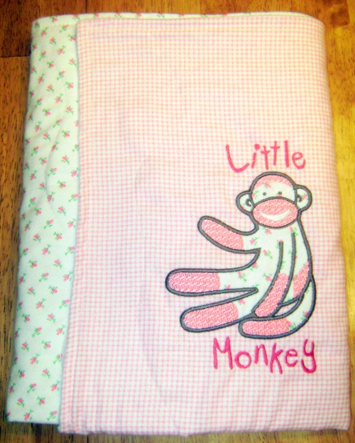 Little Monkey Blanket